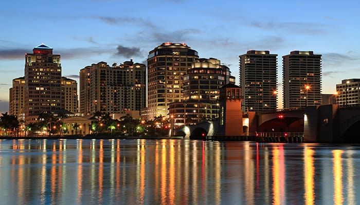 West Palm Beach Florida, where Finmax is about